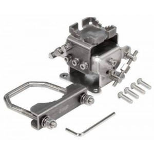 MikroTik solidMOUNT advanced pole mount adapter for LHG products