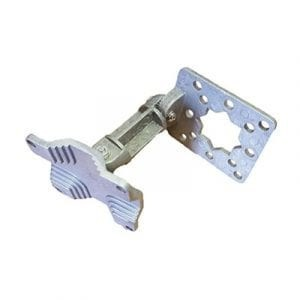 Acconet Aluminium Universal swivel bracket for small and large enclosure