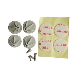 Acconet PCB Stud with Mounting Tape & Screw (4 per pack)