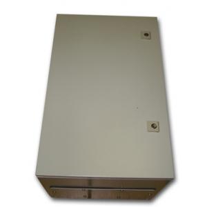 Metal IP55 Weatherproof Enclosure (600x380x350), Beige, Surface Mount, Lockable Doors
