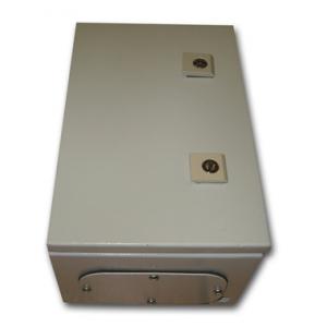 Metal IP55 Weatherproof Enclosure (300x200x155), Beige, Surface Mount, Lockable Doors