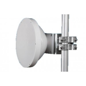 Jirous Parabolic Antenna, 400mm, 29.5dBi, 10 - 12 GHz
