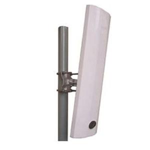 5GHz - Sector Antenna, VP, 90Deg, 17dBi, Wideband (5150-5850), Closed Circuit, Beamwidth 90H, 7V