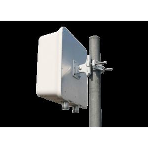 8dBi MIMO LTE/3G/GSM External Panel Antenna - N (F) x2, Freq. Range 698-960/1710-2700 MHz
