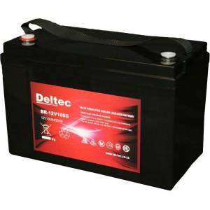 Deltec 12V 100AH Sealed GEL Battery