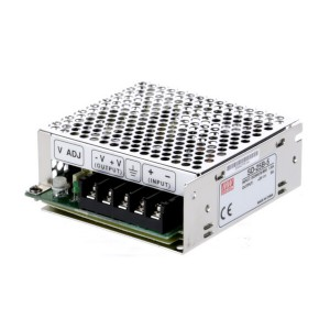 Mean Well - 25W Singe Output DC - DC Converter - 24VDC