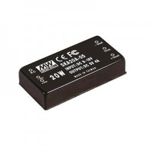Mean Well - 20W Single Output DC - DC Converter - 5VDC