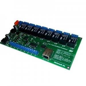 Micro Instruments 8 Port Relay, 8 Port input with Ethernet