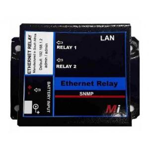 Micro Instruments 2 Port Ethernet Relay, 12V