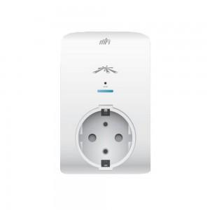 Ubiquiti mFi mPower Mini, Single Port Electrical Plug Monitor, EU Standard, 802.11n WiFi