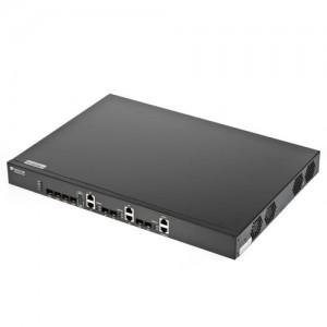 BDCOM EPON 4 Port L2 Headend (OLT) for FTTx, Redundant PSU incl.