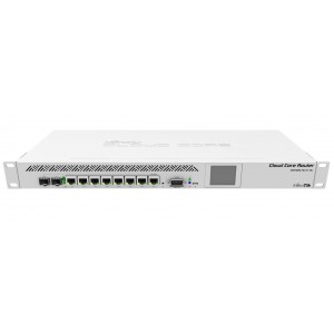 MikroTik CCR1009-7G-1C-1S+ - 7 Port Cloud Core Router with 9 Core CPU, Combo port, SFP+ Rack Mount
