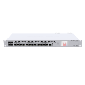 MikroTik CCR1036-12G-4S-EM - 12 Port Cloud Core Router with 36 Core CPU and 4 SFP