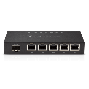 Ubiquiti EdgeRouter X-SFP with 5 LAN Ports and 1 SFP Port