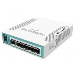 MikroTik CRS106-1C-5S - Cloud Router Switch