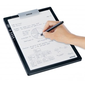 Mecer Acecad DigiMemo A402 A4-Size Digital Notepad with Memory