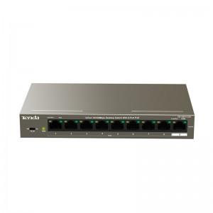 Tenda 9-Port Desktop Switch with 8-Port PoE | TEF1109P-8-102W