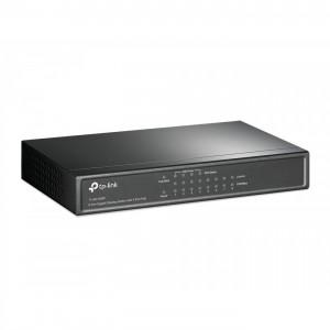 TP-Link 8-Port Gigabit Desktop PoE Switch, 8 RJ45 ports (4 PoE ports), 55W PoE Power supply,
