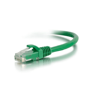 Acconet CAT6 UTP Flylead, 1 Meter, Straight, Stranded Cable, Moulded Boots and Plugs, Green