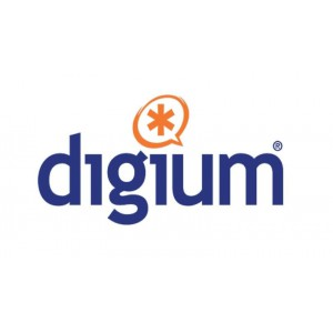 Digium low profile bracket for Digital telephony cards - 4 Port