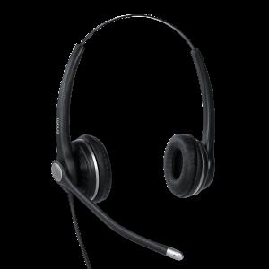 Snom A100 Binaural Headset - Wideband - Noise Cancellation