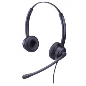 Talk2 PREMIUM Range Binaural headset with adjustable mic