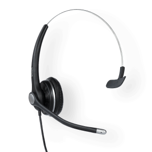 Snom A100 Monaural Headset - Wideband - Noise Cancellation