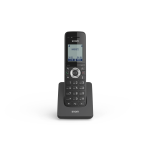 Snom M15-SC Singlecell DECT SIP Phone w/ Charging Base, Backlit Graphic LCD