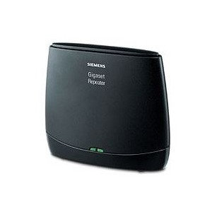 Gigaset repeater 2.0. Doubles the DECT range of the base station.
