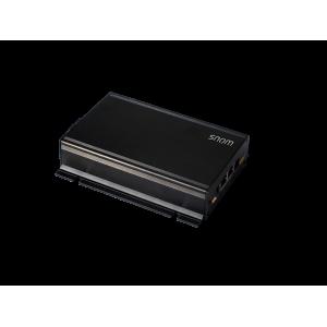 Snom PA1, SIP 48V PoE Paging Amplifier, 2 LAN, 4 Watt Power Amplifier