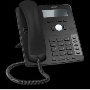 Snom D712 4-line Desktop SIP Phone - Wideband Audio - 4-line Graphical Display
