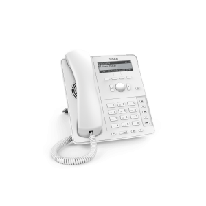 Snom D715 4-line Desktop SIP Phone - Wideband Audio in White - 4-line Graphical Display - USB