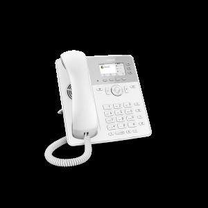Snom D717 6-line Desktop SIP Phone in White - Wideband Audio - Wide Colour TFT Display - USB