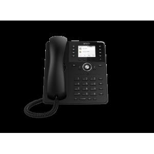 "Snom D735 12-line Desktop SIP Phone - Wideband Audio - Hi-Res 2.7"" Colour TFT Display - USB"