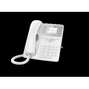 "Snom D735 12-line Desktop SIP Phone in White - Wideband Audio - Hi-Res 2.7"" Colour TFT Display - USB"