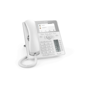 "Snom D785 12-line Desktop SIP Phone in White - Wideband Audio - Hi-Res 4.3"" Colour TFT Display - USB"