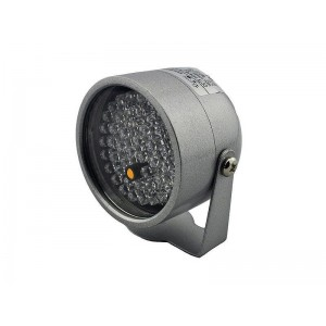 IR Illuminator, 40m range, 45degree angle, DC12V 2A, no PSU included