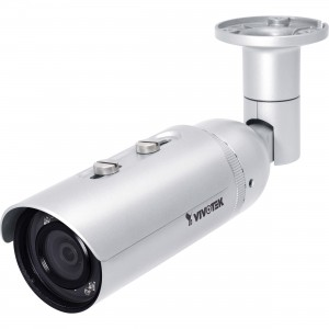 VIVOTEK - Bullet Camera, Outdoor, 2MP, 30Fps, Smart IR, 25m, H.264, 3DNR, SD, WDR Enhancement