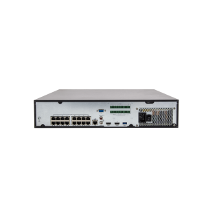 UNV - Ultra H.265 - 16 Channel NVR with 4 SATA HDD up to 6TB with 16 PoE Ports (Smart Analytics)