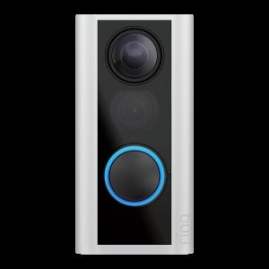 Ring Peephole Camera Satin Nikel (Doorview)