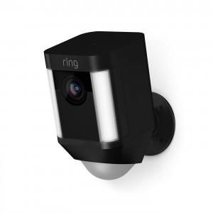 Ring Battery-Powered Spotlight Cam - Black