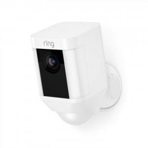 Ring Battery-Powered Spotlight Cam - White