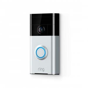 Ring Video Doorbell - Satin Nickel