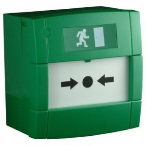 ZKTeco - Green Call Point - Resettable