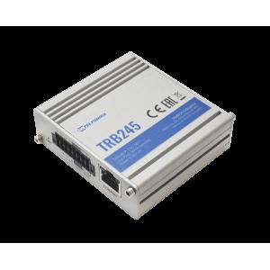 Teltonika Industrial Dual-SIM LTE Gateway to I/O, Ethernet, RS232/485 w/ GPS