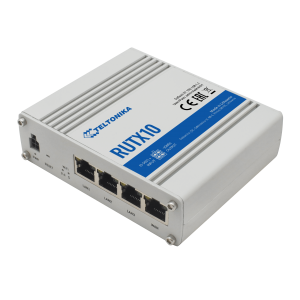 Teltonika Industrial Ethernet Router with Quad-Core CPU, 802.11ac Wave2 Wi-Fi & Bluetooth LE