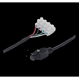 Teltonika 4 Pin Power Cable with 4-Way Screw Terminal