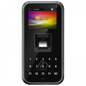Virdi AC5000PIKSC Fingerprint Reader SC LCD BT IK09