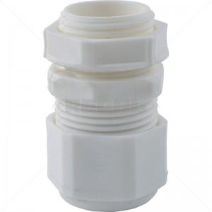 PVC Gland - 0 White