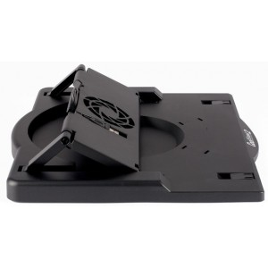 11″ to 15.6″ Notebook Tilt and Rotation Stand with Fan